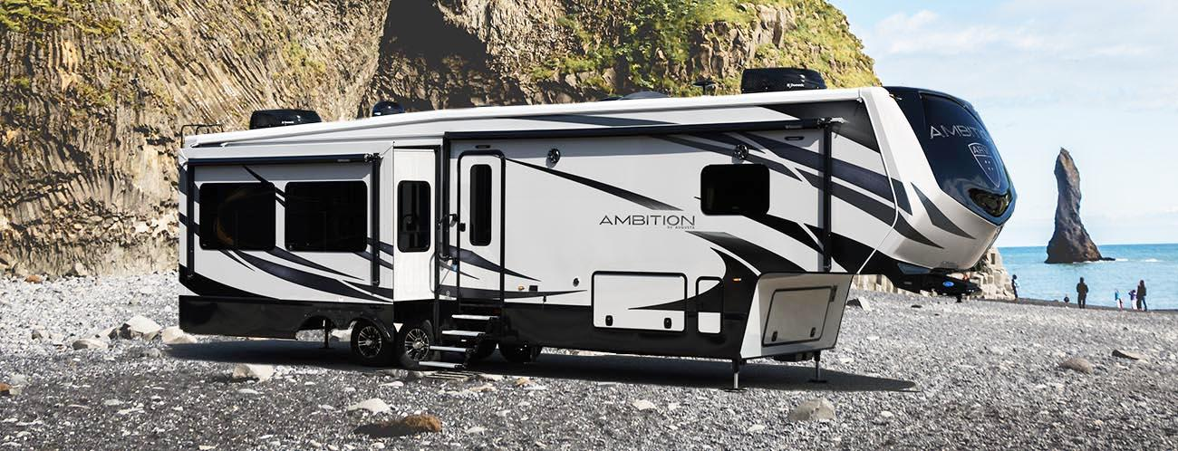 ambition luxury fifth wheel exterior
