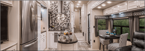 luxury fifth wheel paint color