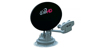 luxury fifth wheel dish satellite tv