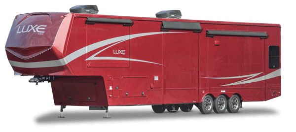 luxe gold full time fifth wheel exterior