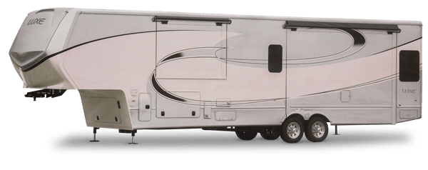 luxe elite luxury fifth wheel exterior