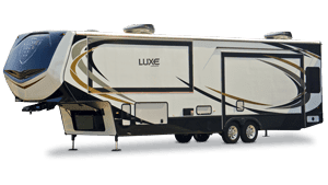 luxe gold luxury full time fifth wheel