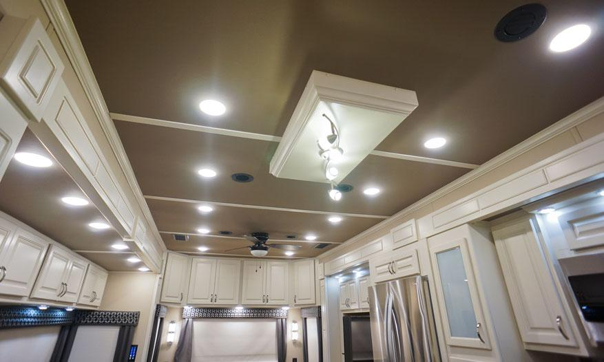 luxe elite luxury fifth wheel led lighting