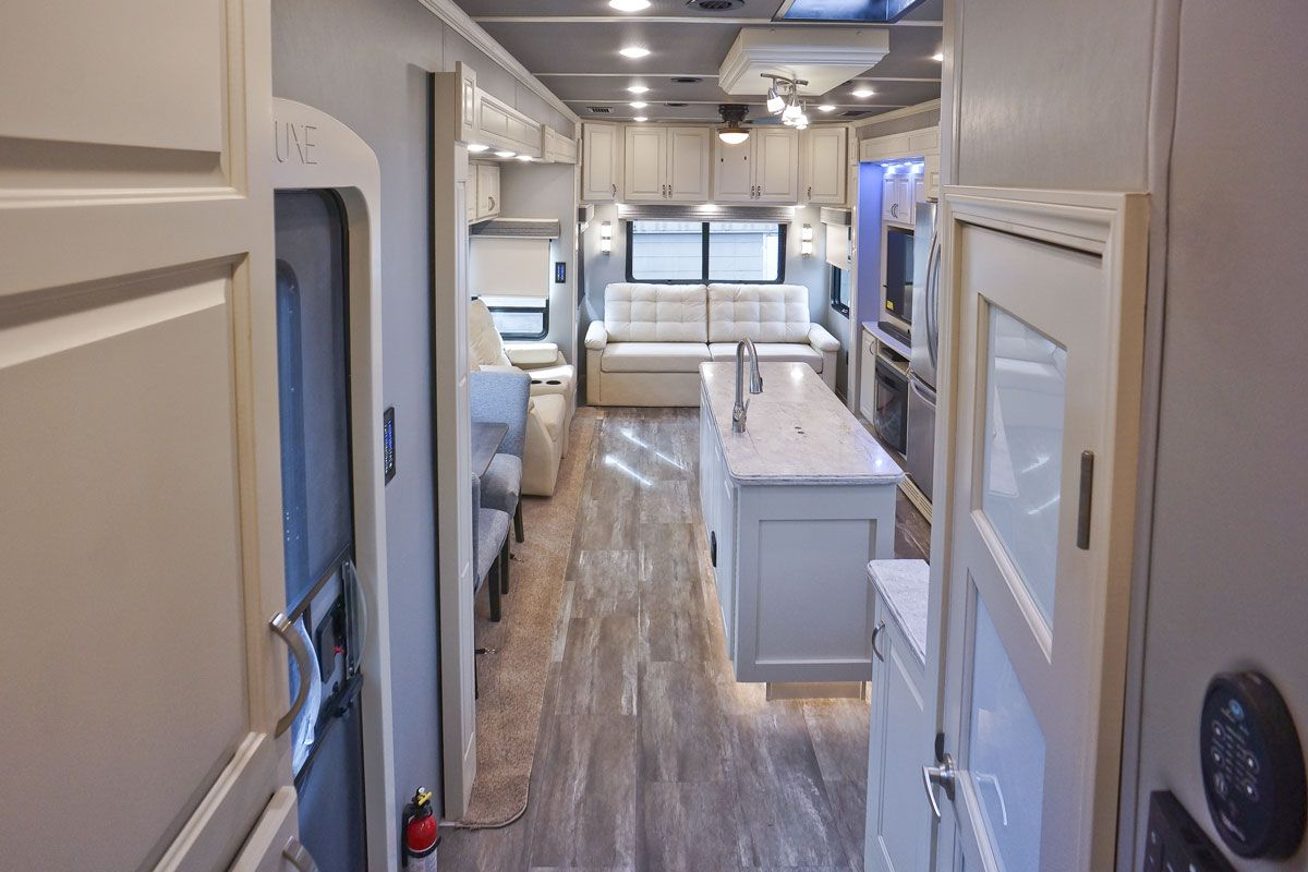 Luxury Fifth Wheel Camper