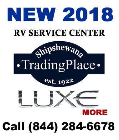 Luxe luxury fifth wheel service center