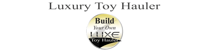 build a luxury toy hauler fifth wheel