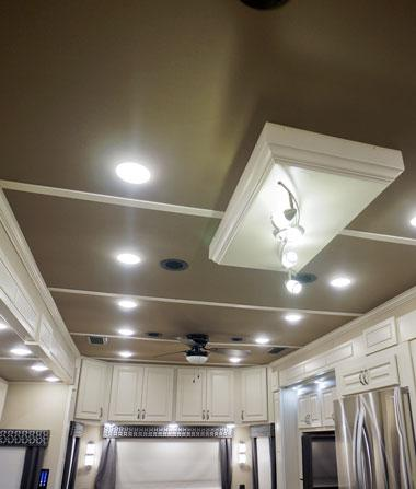 luxe luxury fifth wheel led lighting