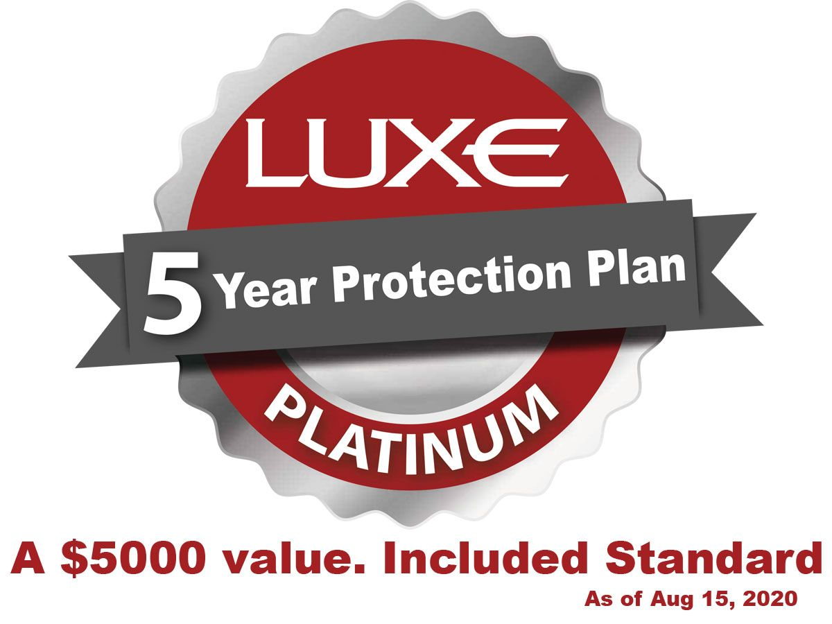 Luxeclusive 5 Year Protection plan