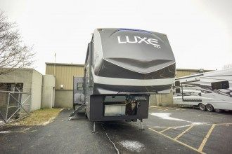 luxury 5th wheel front cap