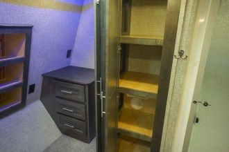 luxury 5th wheel linen closet