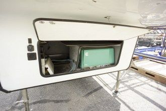 Used toy hauler fifth wheel for sale