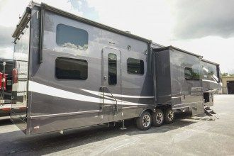 Luxury Toy Hauler fifth wheel for sale